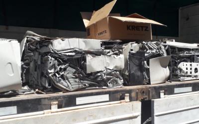 Planta RAEE: ECOM Chaco concretó la primera venta de materiales reciclables