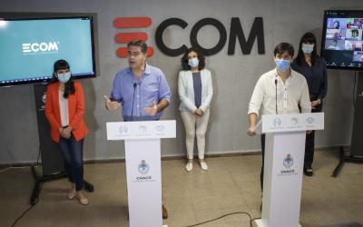 Junto al gobernador, se presentó el pasaporte COVID, la app que unificará permisos e información sanitaria