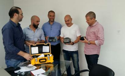 ECOM recibió nuevo equipamiento para reparar la fibra óptica